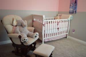 עריסה בחדר תינוקות